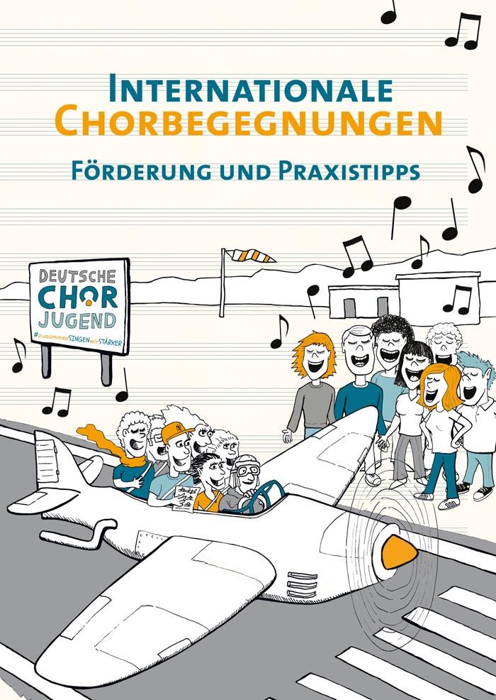 Broschüre für die Deutsche Chorjugend