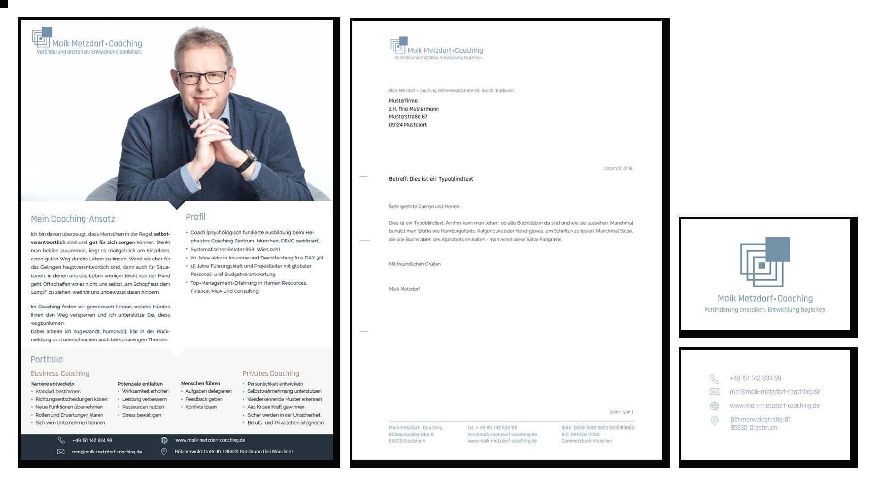 Maik Metzdorf • Coaching | Geschäftsausstattung